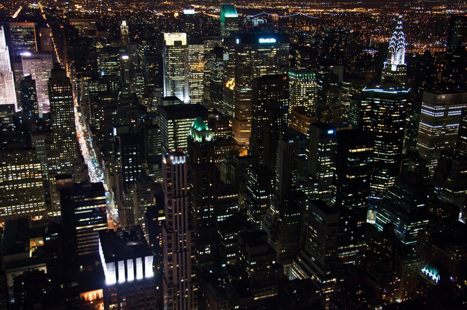 Vista desde el mirador del Empire State Building
