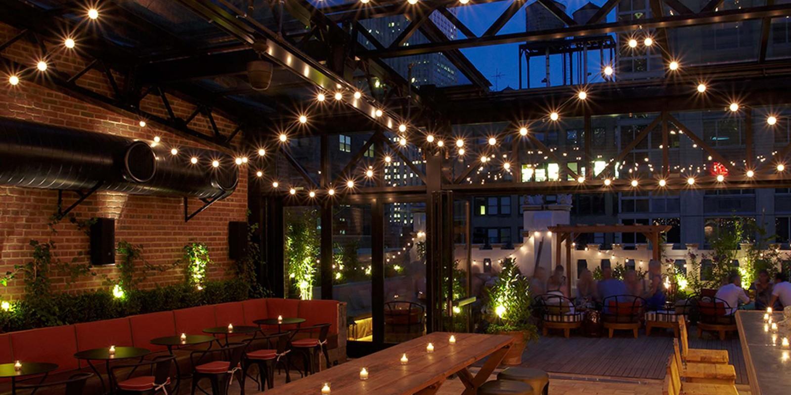 Los 5 Mejores Restaurantes Rooftop De Nueva York Cena Con