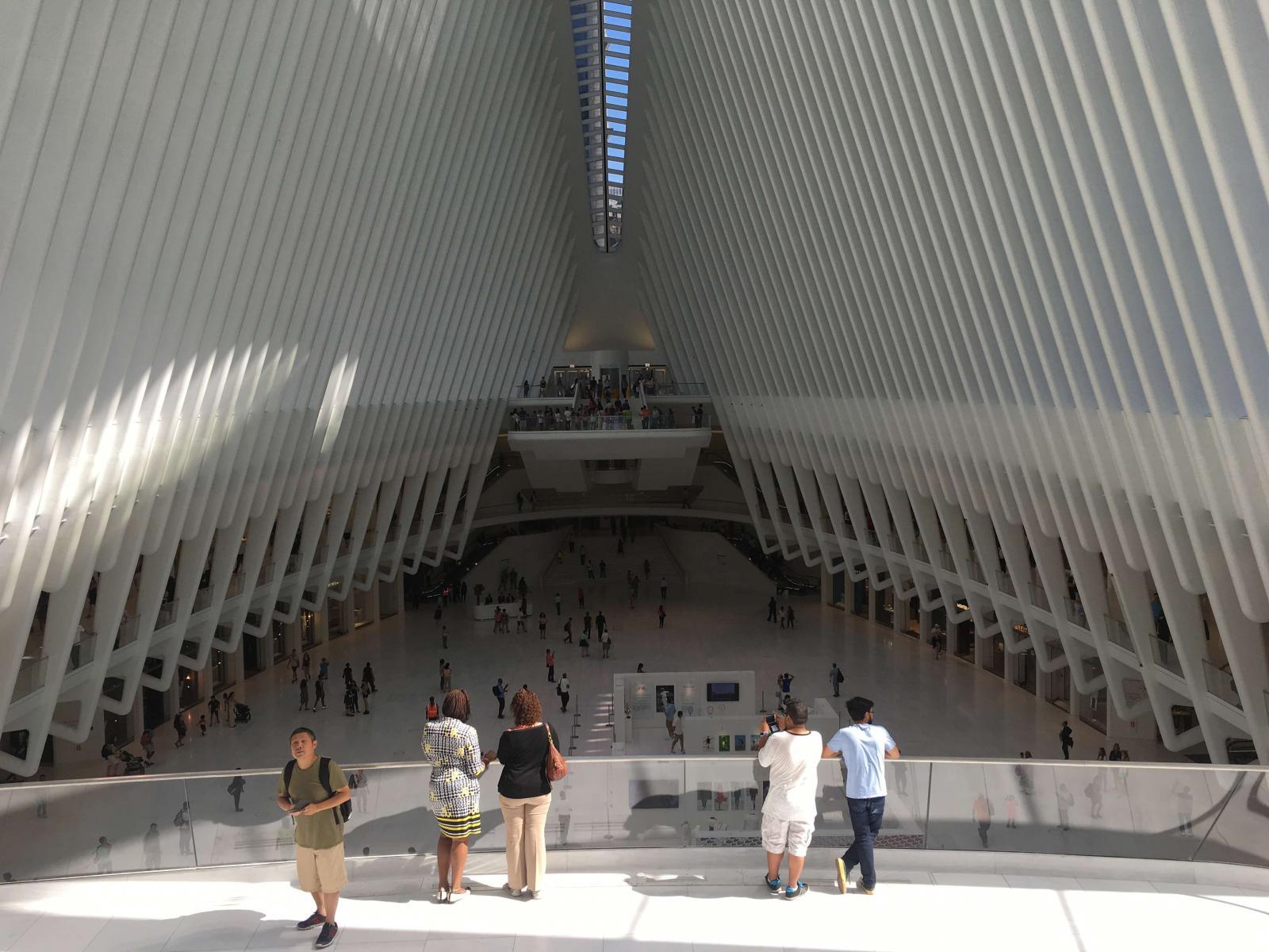 Estación Oculus en el One World Trade Center de Nueva York