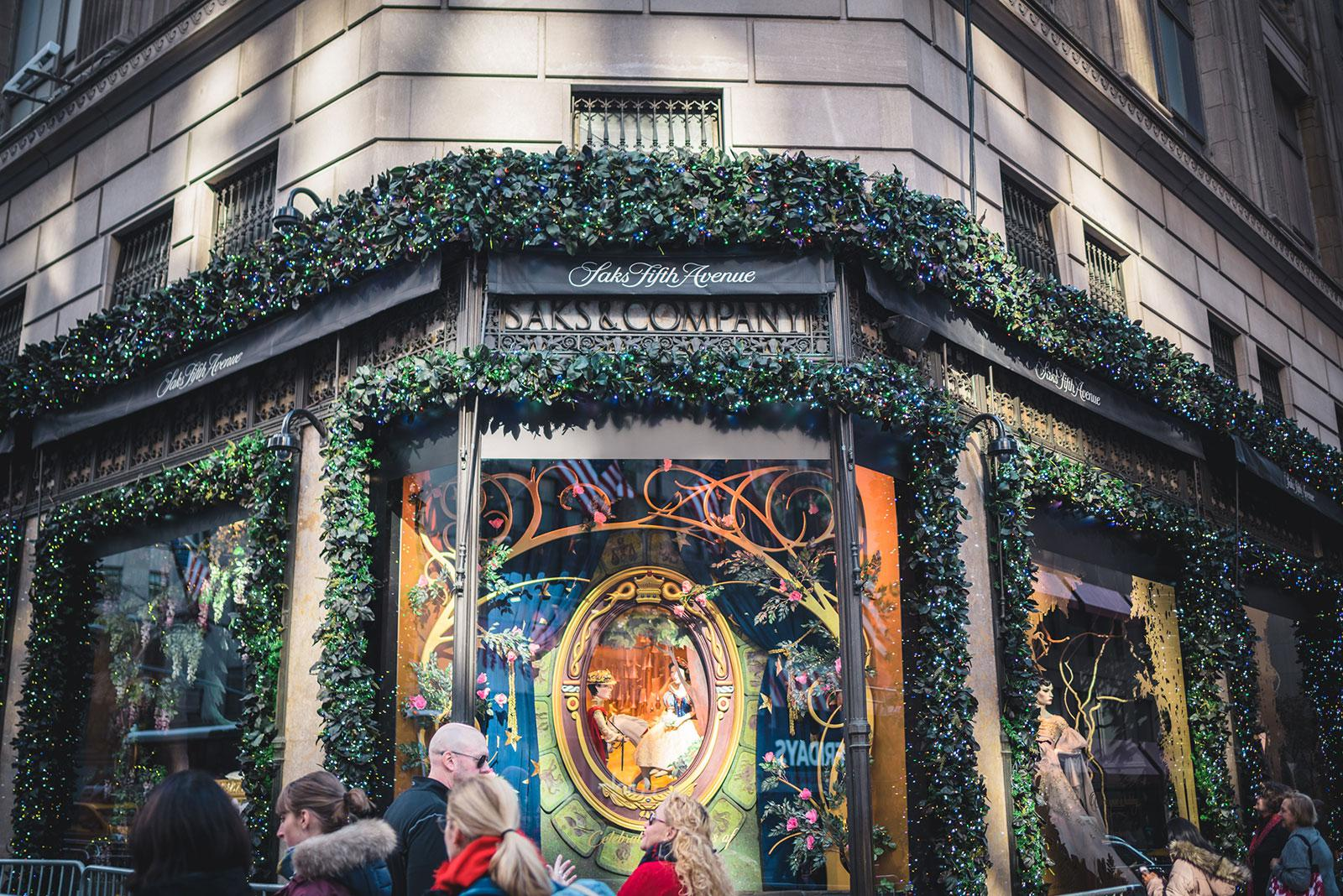 Escaparates de Navidad en Nueva York