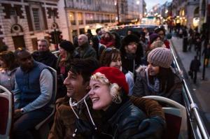 Tour en autobus por las luces de navidad de Manhattan
