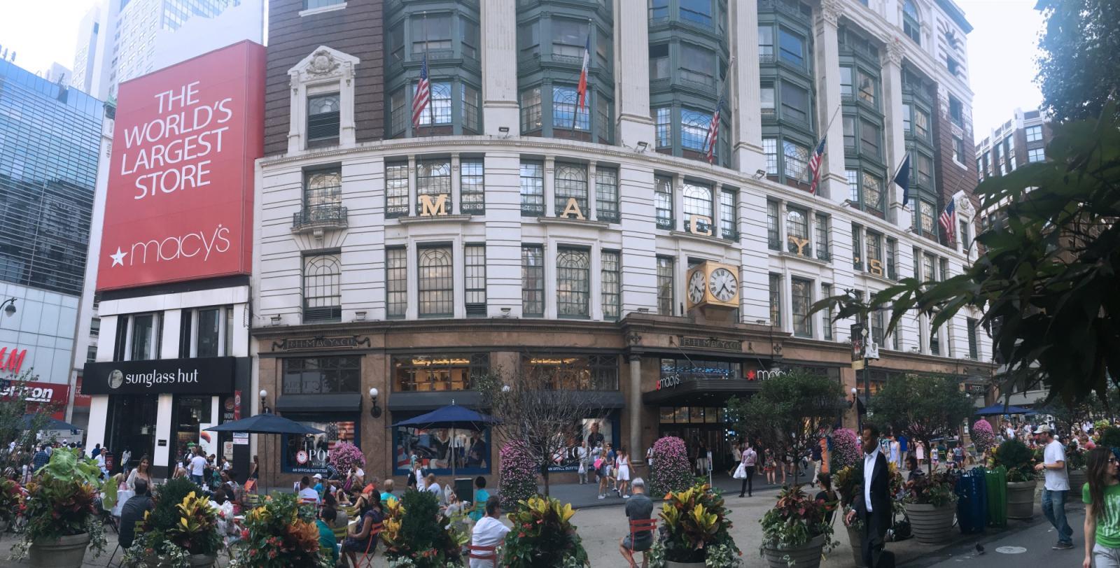 Macy\'s Nueva York: los grandes almacenes más grandes del mundo