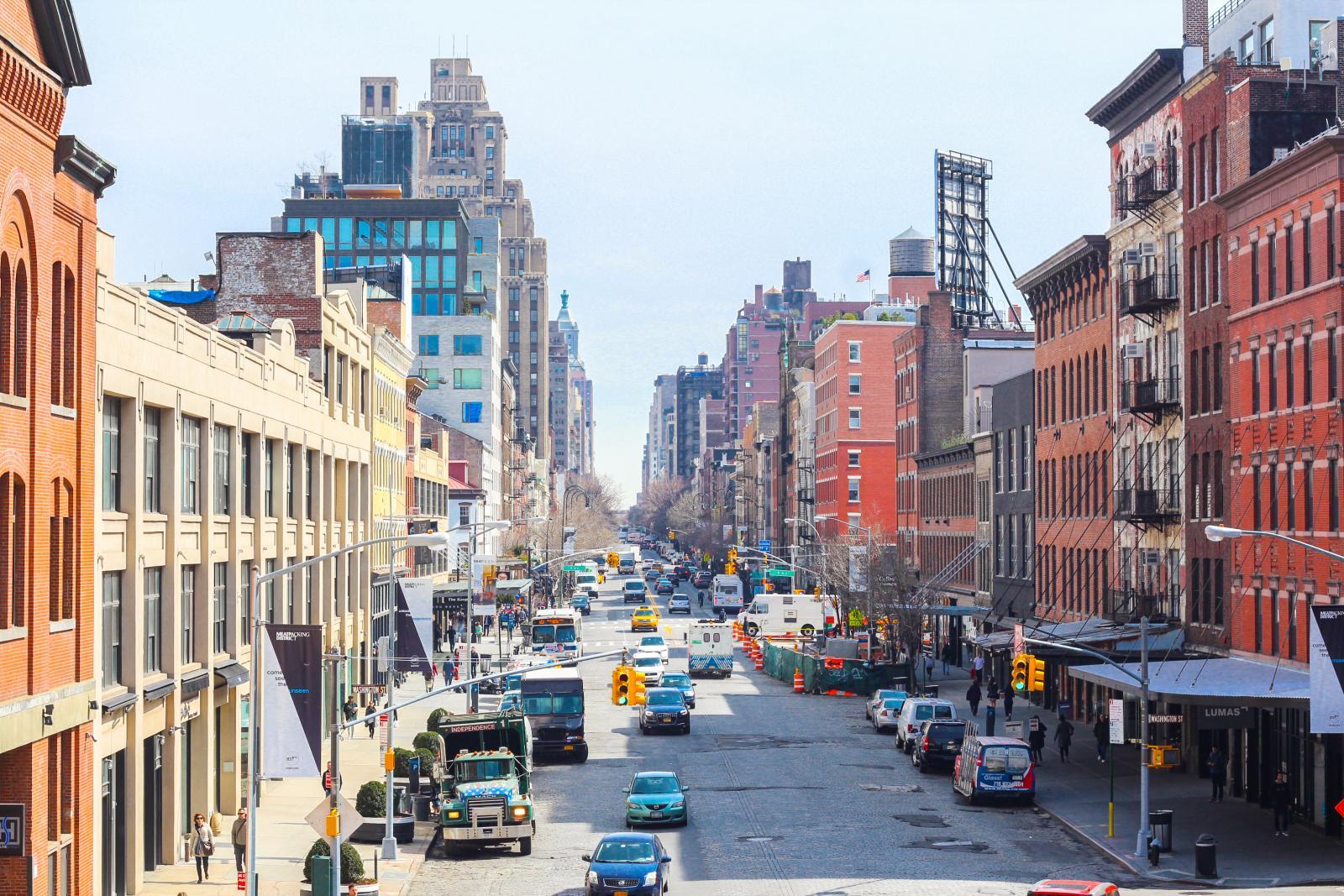 Vista del Meatpacking de Nueva York