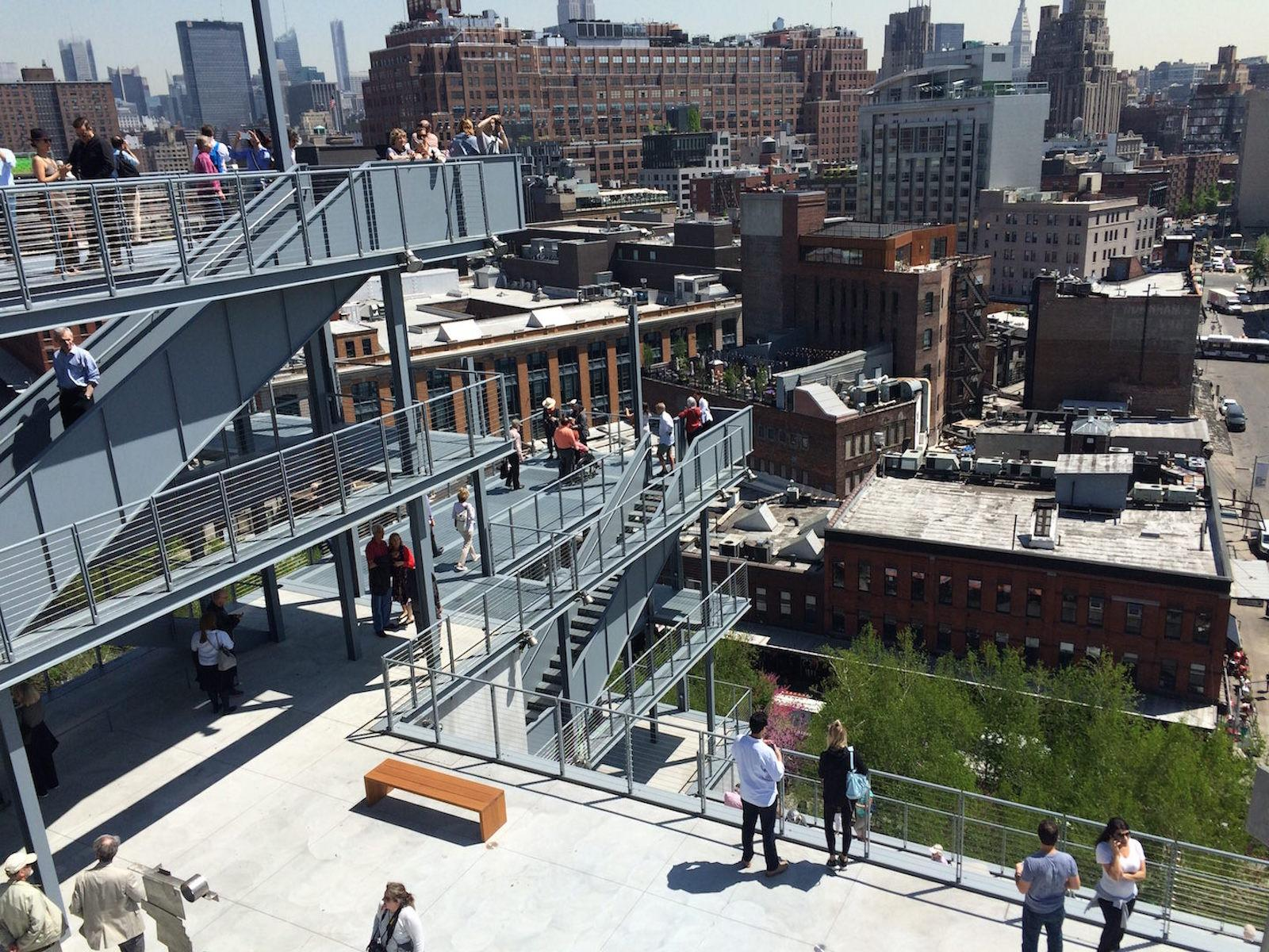 Vista desde el Whitney Museum