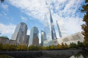 Memorial del 11-S en el One World Trade Center de Nueva York