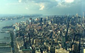 Vista de Manhattan desde el One World Observatory, el mirador más alto de Nueva York