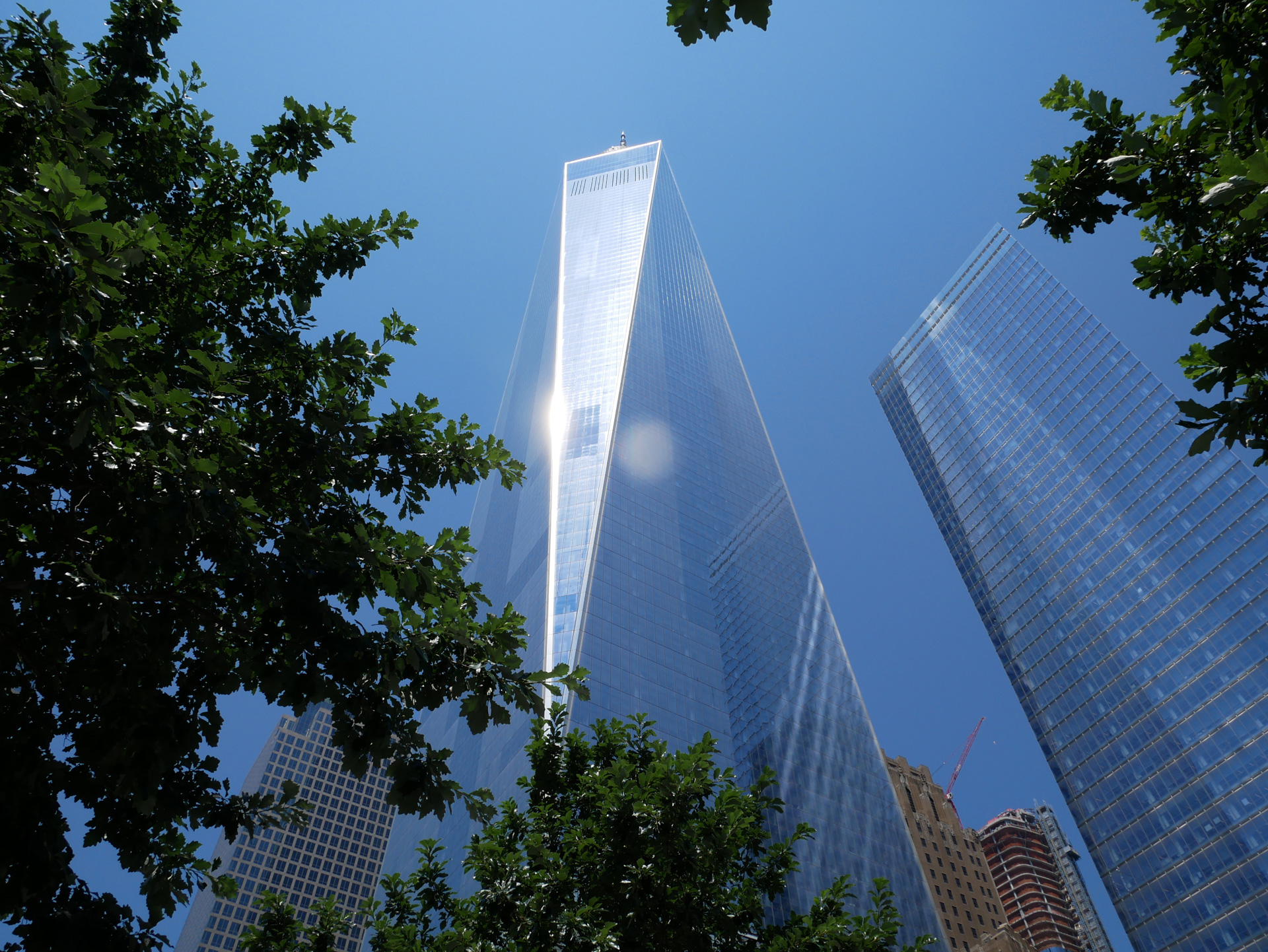 Altura del One World Trade Center