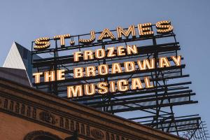 Frozen New York Broadway