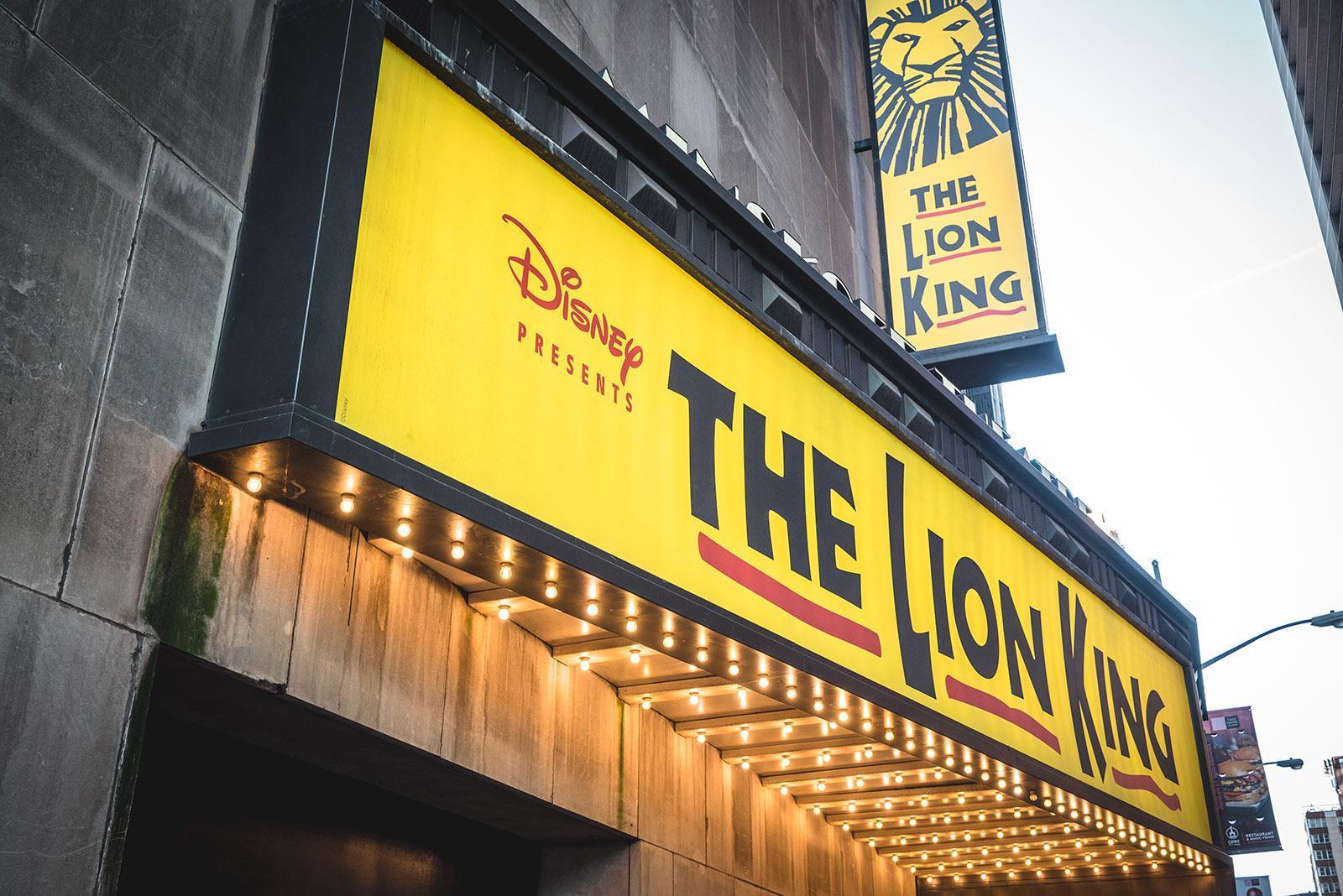 Musicales en Nueva York: El Rey León