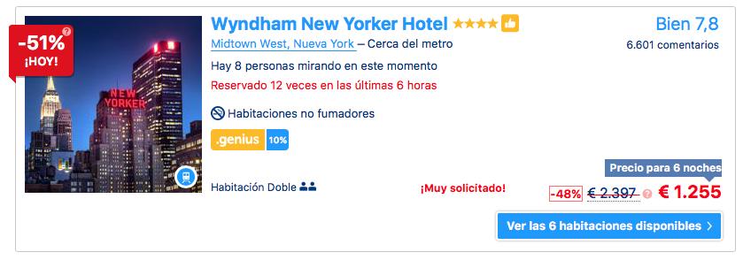 Ofertas viajes a Nueva York