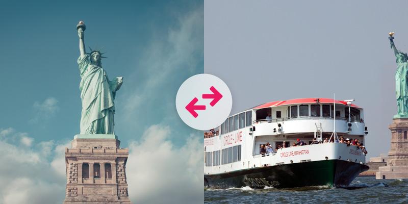 Tours en barco con el City Pass New York