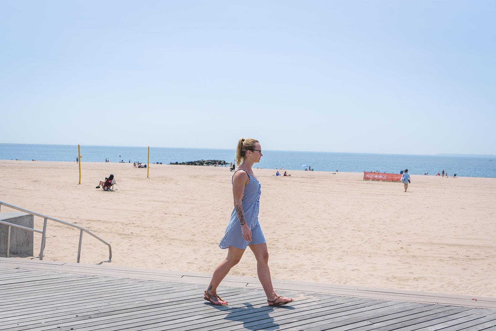 Sabrina de Loving New York en Brighton Beach