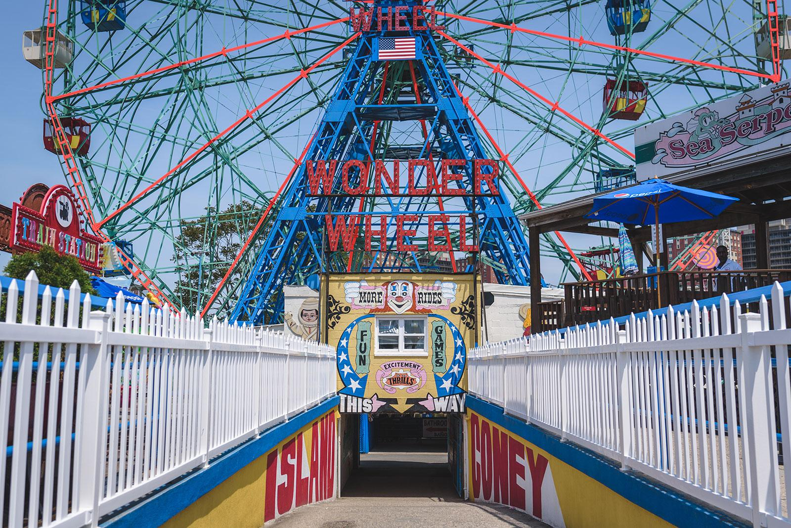 Wonder Wheel, Coney Island, New York