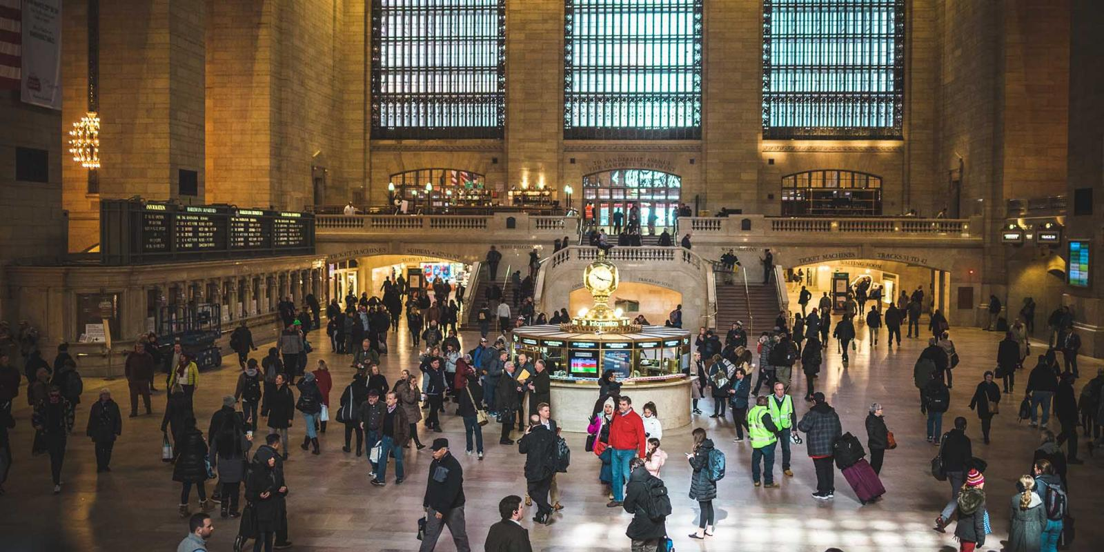 Grand Central Station en Nueva York