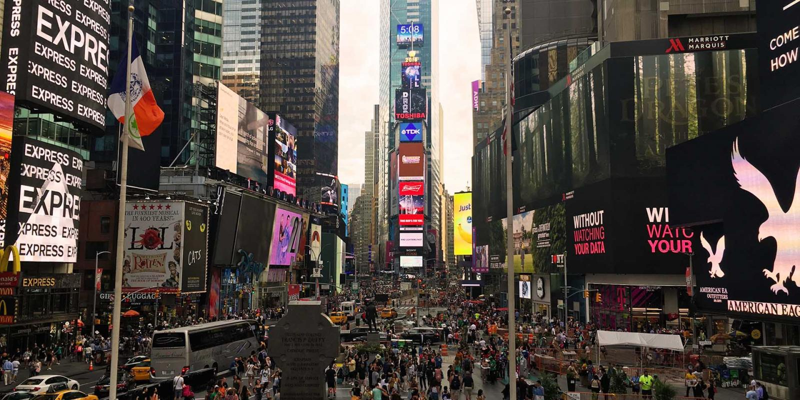 Nueva York en 7 días: Times Square