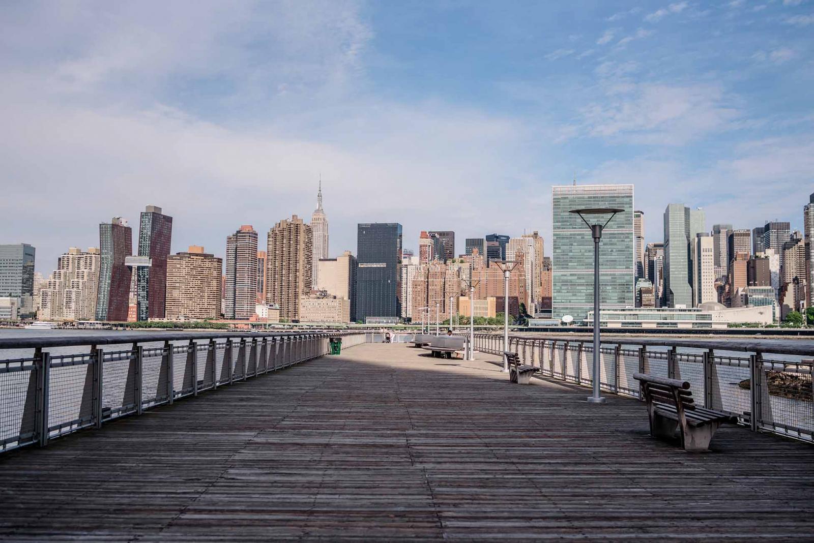 Parques de Nueva York: Gantry Plaza