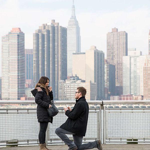 Dónde y cómo pedir matrimonio en Nueva York
