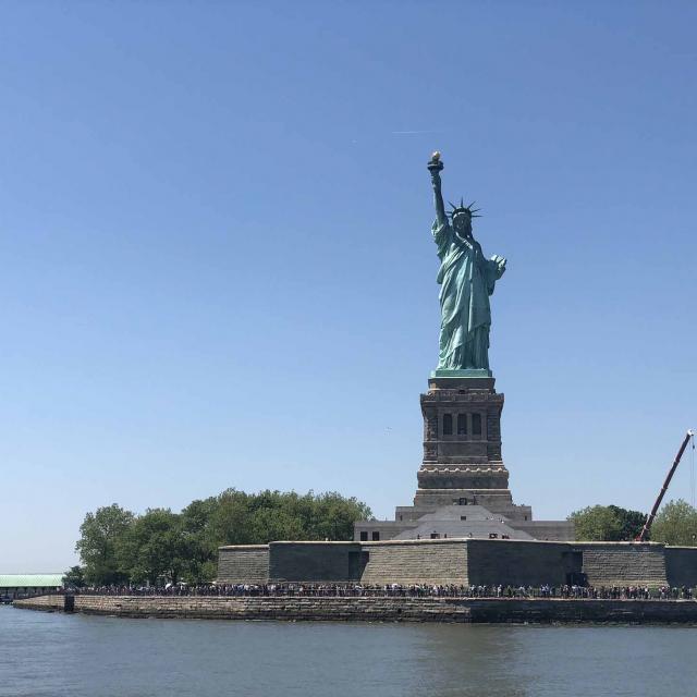 Las mejores formas de ver la Estatua de la Libertad gratis