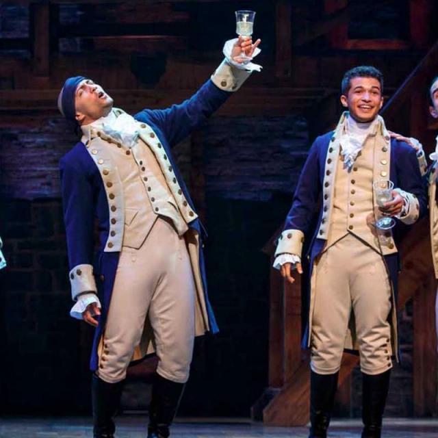 El musical de Hamilton en Broadway