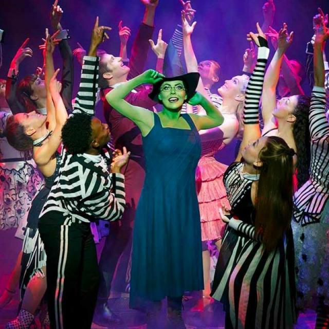 Musical de Wicked en Broadway