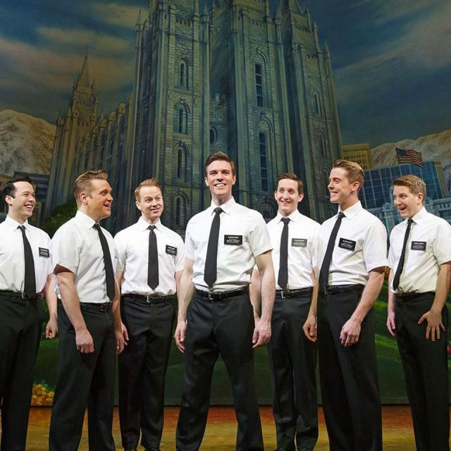 Musical The Book of Mormon Broadway