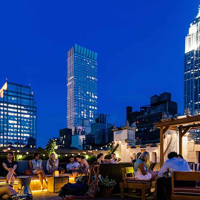 Los 7 mejores rooftop-bars de Times Square