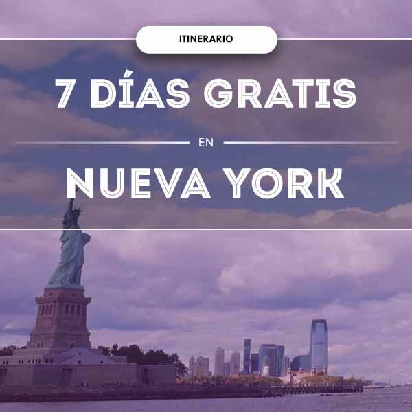 Cosas que hacer en Nueva York GRATIS: ¡Durante una semana!