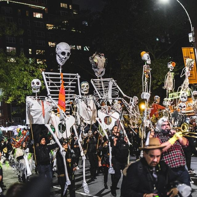 Village Halloweeen Parade de Nueva York