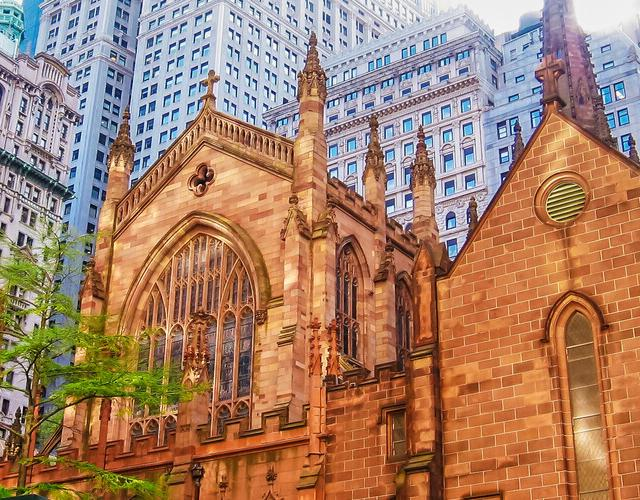 La Trinity Church de Wall Street
