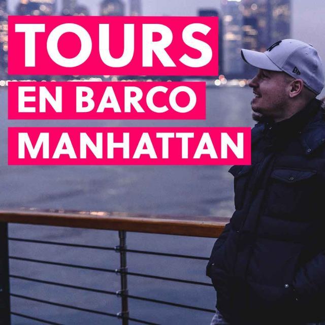 Tours en barco por Manhattan: todas las rutas